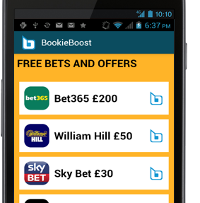 BookieBoost App for Android and iOS
