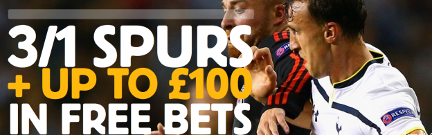 3/1 Spurs to win