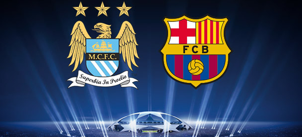 Manchester City v Barcelona Betting Offers