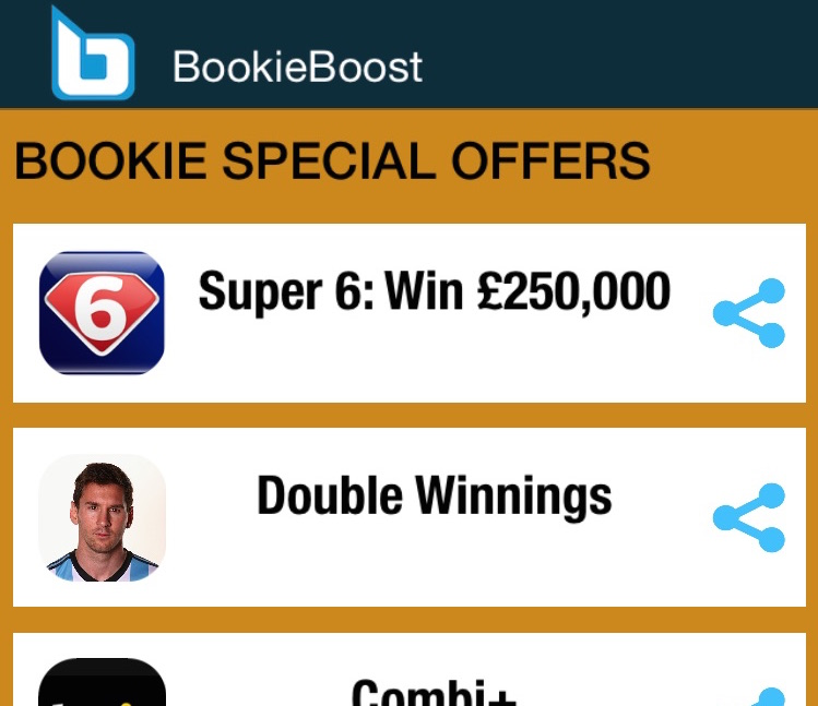 Sky Super 6 app via BookieBoost